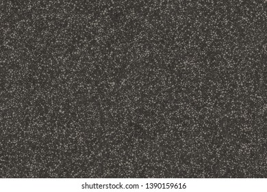 Black asphalt texture. Tarmac dark grey grainy road background. Top view grunge rough surface