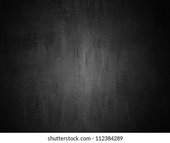 black background or gray background with abstract vintage grunge background texture or black and white background in monochrome color print, spotlight dark gray background template or web brochure ad