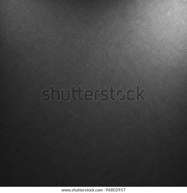 black background or luxury gray background abstract white corner light and vintage grunge texture, black and white color for printing monochrome brochure, web ad, elegant dark gradient
