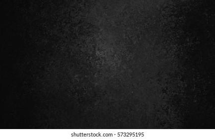 black background with old vintage texture and grunge paint design, elegant dark paper