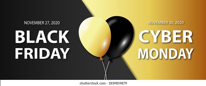 Black Friday, Cyber Monday 2020