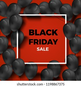 Black Friday - red - black