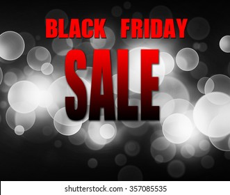 Black friday sale background. Black and white light blur background