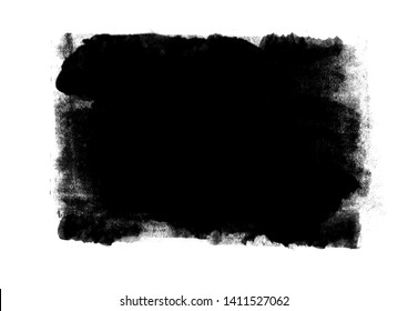 Black graphic color patches brush strokes effect background designs element