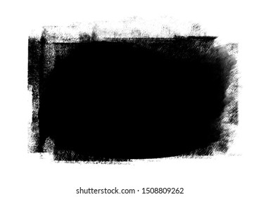 Black graphic patch strokes effect of designs element for background