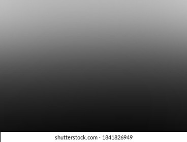 Black gray and White ombre Blurry background wallpaper