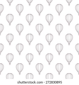photograph regarding Hot Air Balloon Pattern Printable called Imágenes, fotos de inventory y vectores sobre Warm Air Balloon