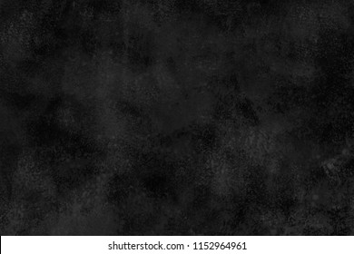 Black ink and acrulic paper textures on white background. Chaotic abstract organic design.