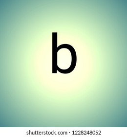 black letters small