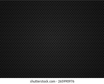Black metal / carbon grid background or texture