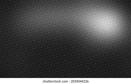 Black metal grid shimmer textured surface. Exquisite abstract material texture.