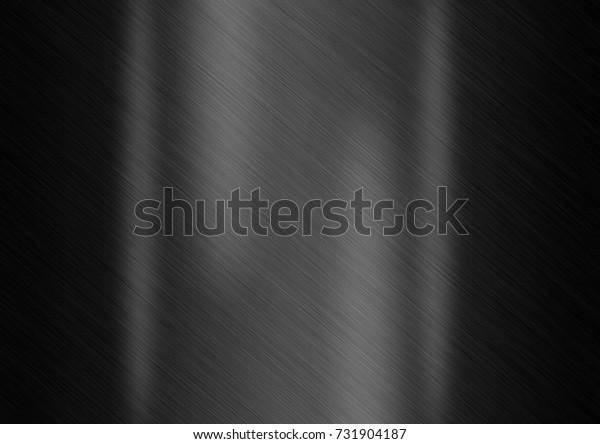 Black metal plate texture background