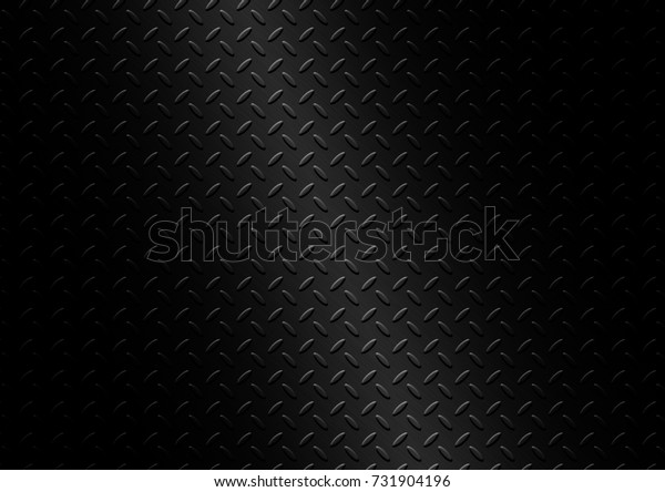 Black metal plate texture background