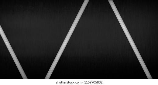 black metal template design background