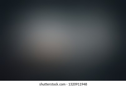 Black ombre pattern. Low light on dark shadow abstract background. Frame blurred texture. Gothic defocus illustration. Horror style.