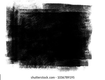 Black pastel cool graphic color brush strokes patches effect background