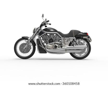 Black Roadster Bike Side