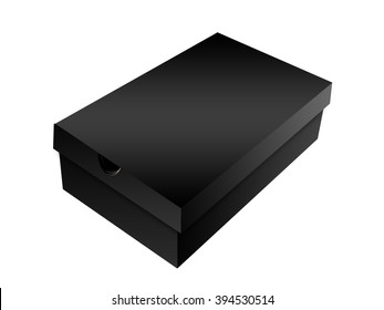 Black Shoe Box