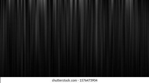 Black stage theatre curtain background with copy space
