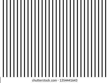 Black stripes background on white background