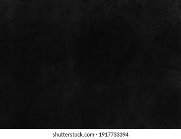Black textured illustration. Black industrial background. Trendy black background, scandinavian style, modern black wall, stone texture