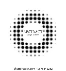 Black Vector Dots Halftone. Dots pattern. Halftone Abstract Background. Comic Dotted Pattern. Design Element Spot Background. Monochrome Half-Tone. Geometric Gradient Design. Dots Grunge.