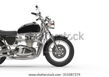 Black Vintage Bike