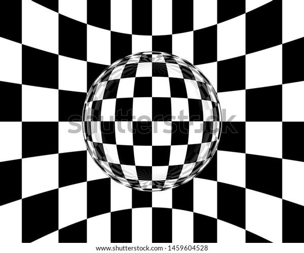 Black White Abstract Background Desktop Wallpaper Stock Illustration 1459604528