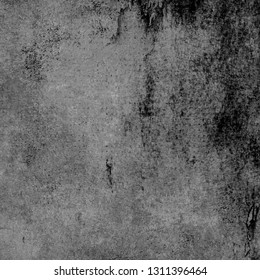 Black and white background. Grunge wall texture seamless pattern. Abstract grunge texture.
