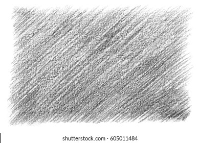Black and white background: horizontal strokes of a graphite pencil on paper. Isolated strokes of a soft lead pencil.