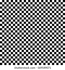 Black and white checkered pattern.