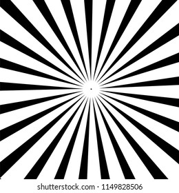 Black and white colored back pop art style background. backdrop line space. Stock illustration, monochrome