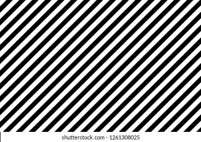 Black and White Diagonal Line Patterns on a Background