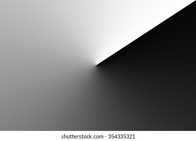 Black and White gradient Background