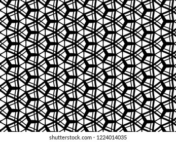 Black and white hand drawn abstract pattern background be use for wallpaper, pattern fill, webpage background, surface textures.