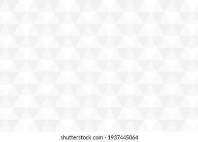 Black and white hexagon shape illustration background
