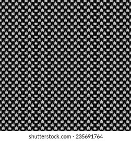 Black and White Marijuana Leaf Pattern Repeat Background that is seamless and repeats