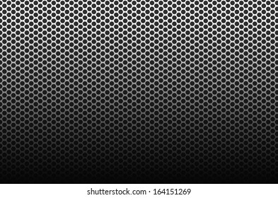 Black and white mesh pattern background