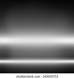 black and white metal texture abstract background