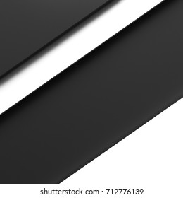black and white paper layer background