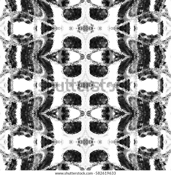 Black and white pattern for textile, ceramic tiles and designs