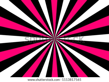 Black White Pink Abstract Wallpaper