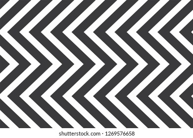 Black and white seamless geometric pattern