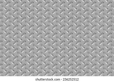black and white silver smooth shiny diamond plate background