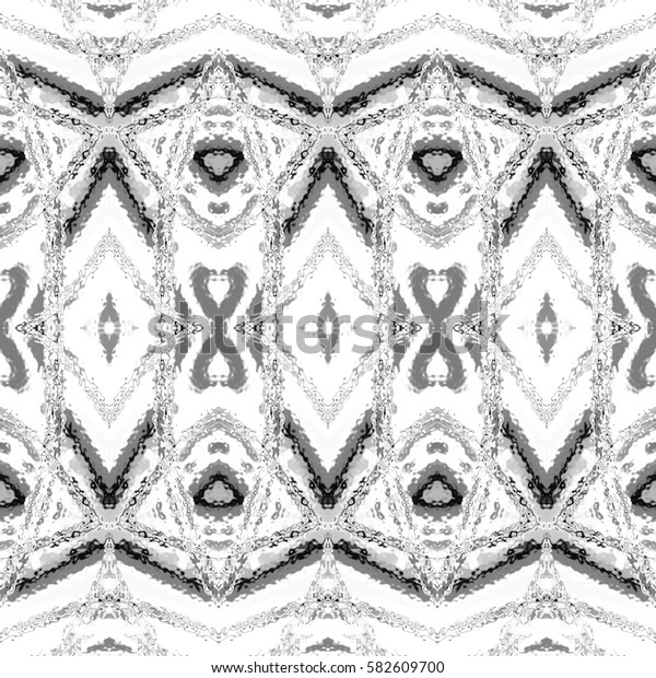 Black and white square pattern for textile, ceramic tiles and designs