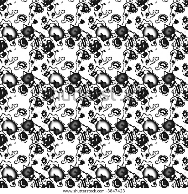 Black White Textured Wallpaper Background Stock Image