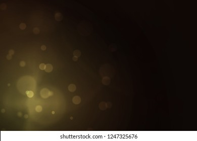 black and yellloq gradient background with bokeh, bokeh background for night party, beautiful bokeh and flair lighting on black and yellow background color