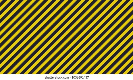 Black and yellow diagonal lines - warning lines - useful like grunge background ratio 16:9