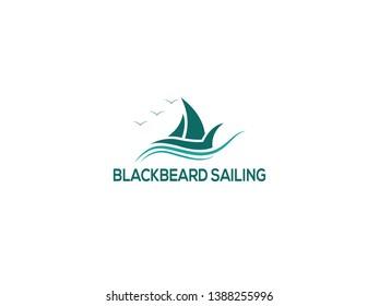 Blackbeard logo Design for Sailing.