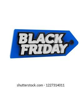 blackfriday, logo, 3d